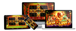 Play Lucha Libre 2 online pokie