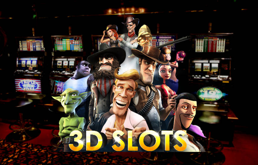 What are online 3D slots? - USA Online Slots and Australian Pokies